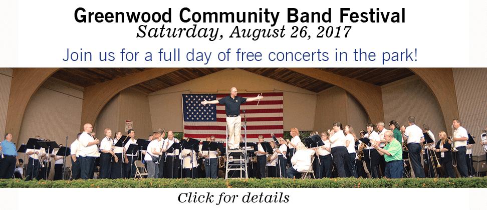 Greenwood Concert Band Festival 2017